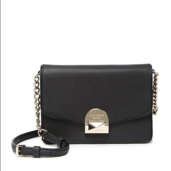Kate Spade Leather Neve Convertible Flap Crossbody